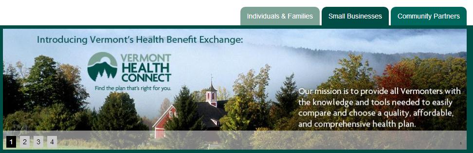 Vermont Health Insurance Exchange