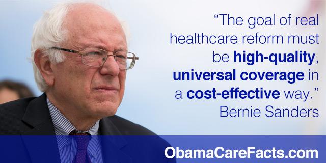 BernieCare = Bernie Sanders HealthCare Reform