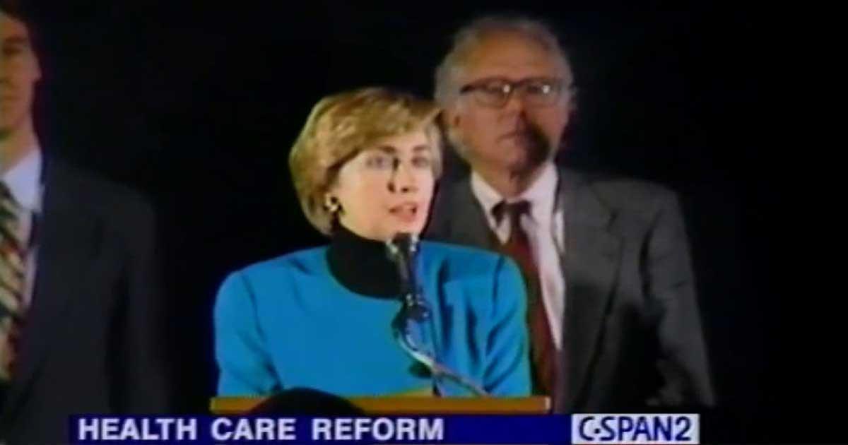 Hillary Clinton Healthcare reform
